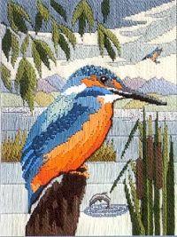 Sew Inspiring : Sew Inspiring Birds Long Stitch Kits
