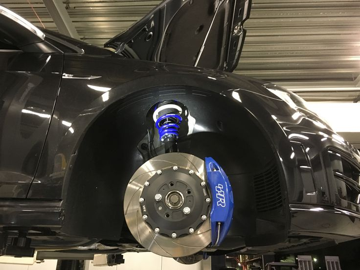 Racingline Front Brake Kit & Street Sport+ Suspension