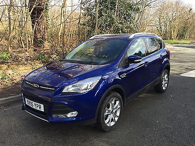 eBay: 2015 FORD KUGA 2.0 TDCI - 11K - LEATHER -VERY LIGHT DAMAGED SALVAGE - DRIVE AWAY #carparts #carrepair ukdeals.rssdata.net