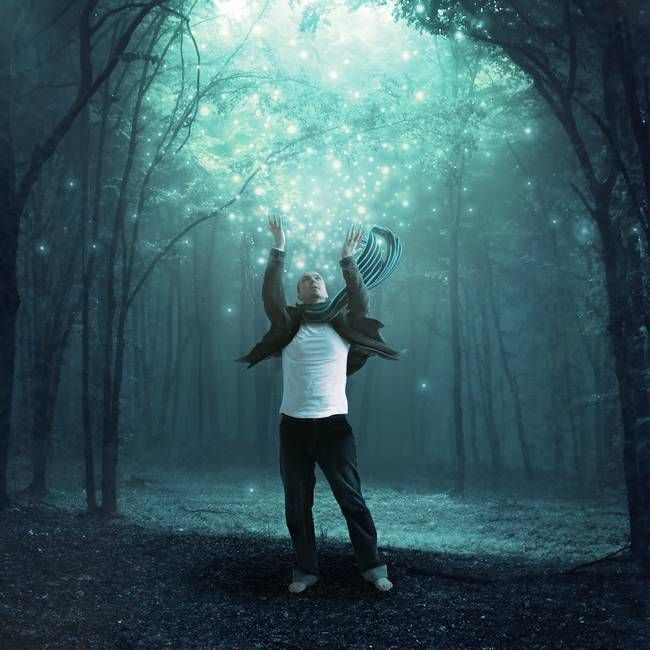 """Fireflies"" by Shawn Van Daele. Find more magical prints on www.imagekind.com!"