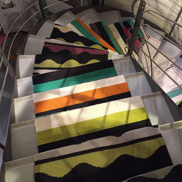 durries at gudrun store in stuttgart colourful gudrun. Black Bedroom Furniture Sets. Home Design Ideas