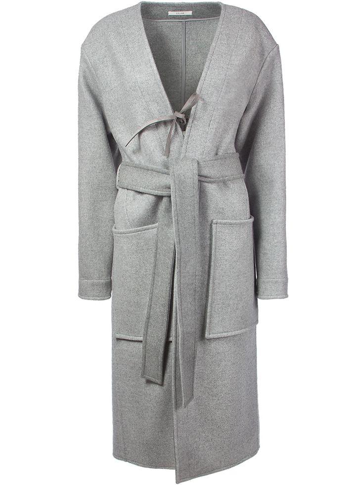 Пальто-халат от CELINE