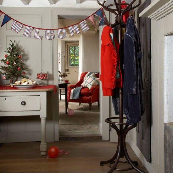 Welcome guests | Christmas hallways | housetohome.co.uk