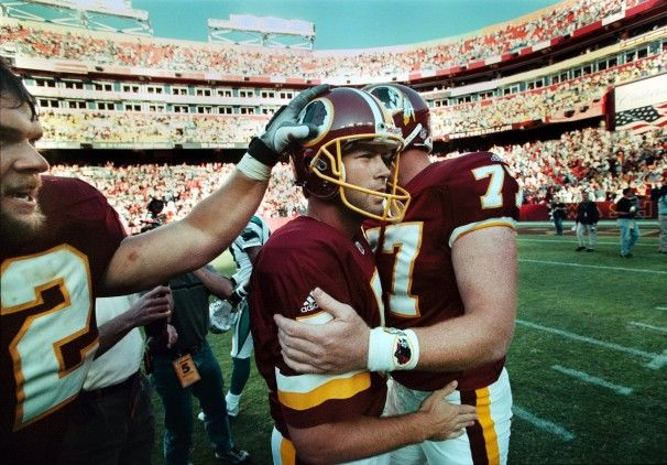 washington redskins 1999   Brett Conway kicked for the Redskins in 1999 and returned for a second ...