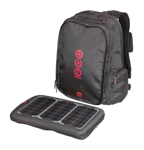 voltaic solar power backpack, great for travel!