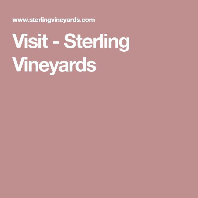 Visit - Sterling Vineyards