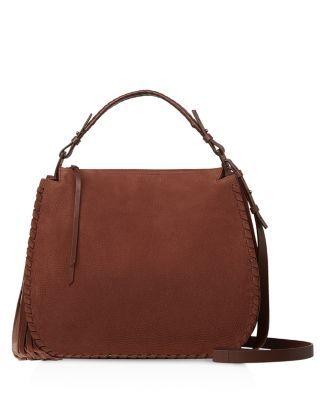 ALLSAINTS . #allsaints #bags #shoulder bags #hand bags #leather #hobo #
