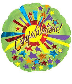 Bunches Congratulations Balloon #bunchesuk
