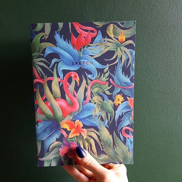 Making lists of all the DIY projects I want to finish off over the Christmas break. Who knew I could be so productive fuelled exclusively by Baileys? Love this tropical flamingo jungle notebook from OhhDeer