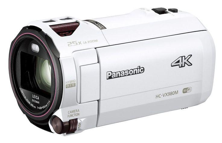 Panasonic digital 4K video camera 64GB correction White HC-VX980M-W Japan