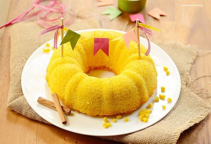 Kitchen Blender Corn Bundt Cake (Bolo de Milho de Liquidificador) - From Brazil To You + A GF Version