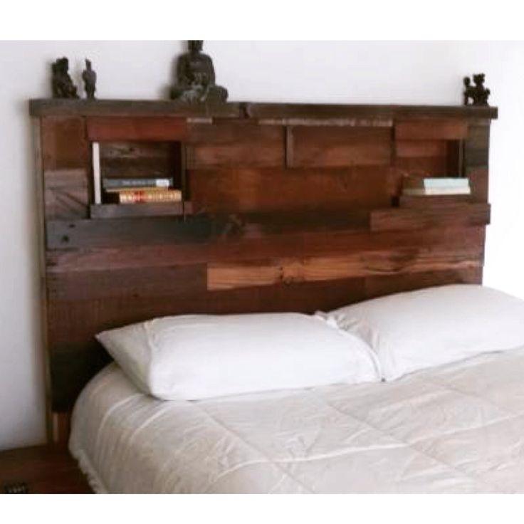 Rustic Reclaimed Wood Headboard 400 Oceanside This