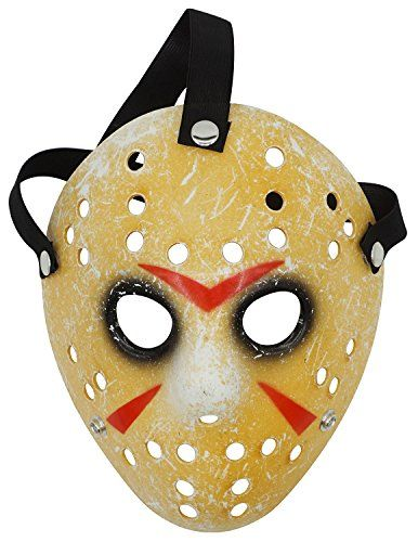 become the ultimate terrifying killer wearing the costume of jason voorhees this halloween season - Cool Masks For Halloween