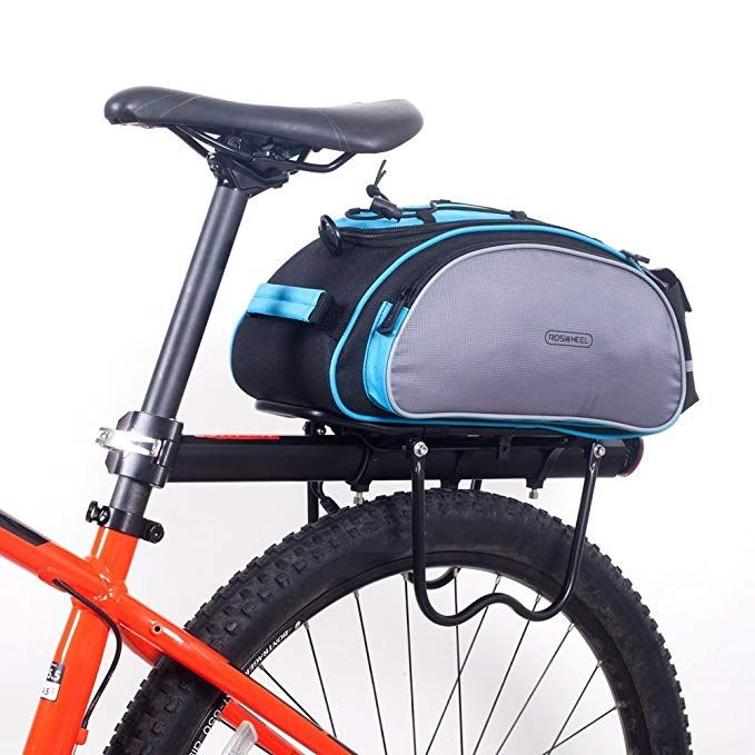 Roswheel Cycling Bicycle Bike Rack Bag Blue Seat Cargo Bag Rear