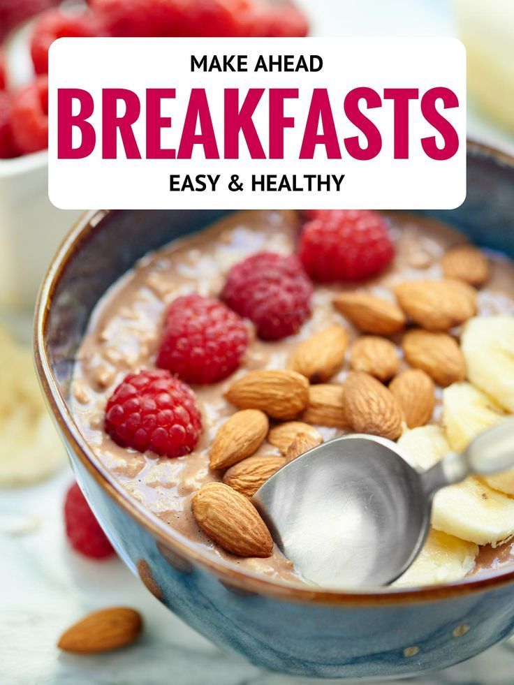 Easy healthy make ahead breakfast recipes breakfast and for How to make homemade healthy snacks