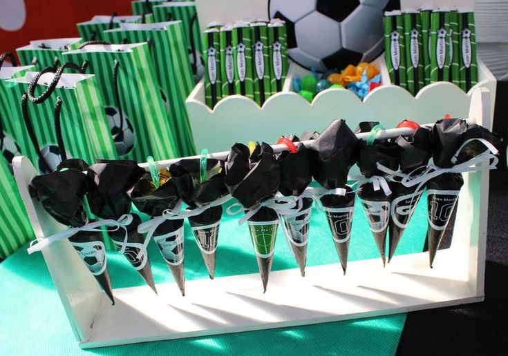 Football Birthday Party Ideas | Photo 2 of 9 | Catch My Party