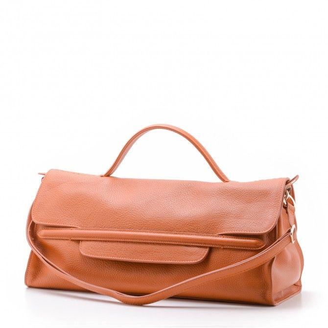 Nina In Pelle Arancione Zanellato vendita online - Vietti Shop