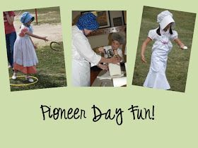 Pioneer Day books activities and games