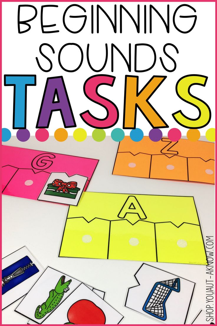 Students practice identifying beginning sounds with this work task. The easy prep makes it perfect for any Special Education classroom.