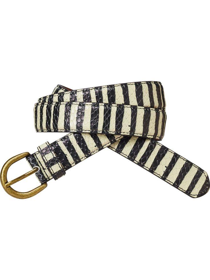Medium Width Belt