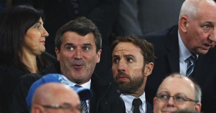 Roy Keane admits he likes Gareth Southgate  even though 'he tried to break my leg'