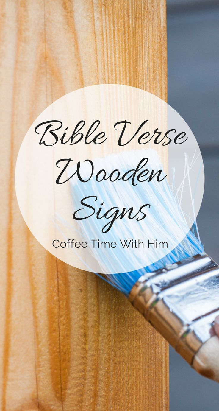 Pallet Furniture Plans >> 27 best Bible Verse Wooden Signs images on Pinterest | Wood signs, Wooden signs and Scripture ...