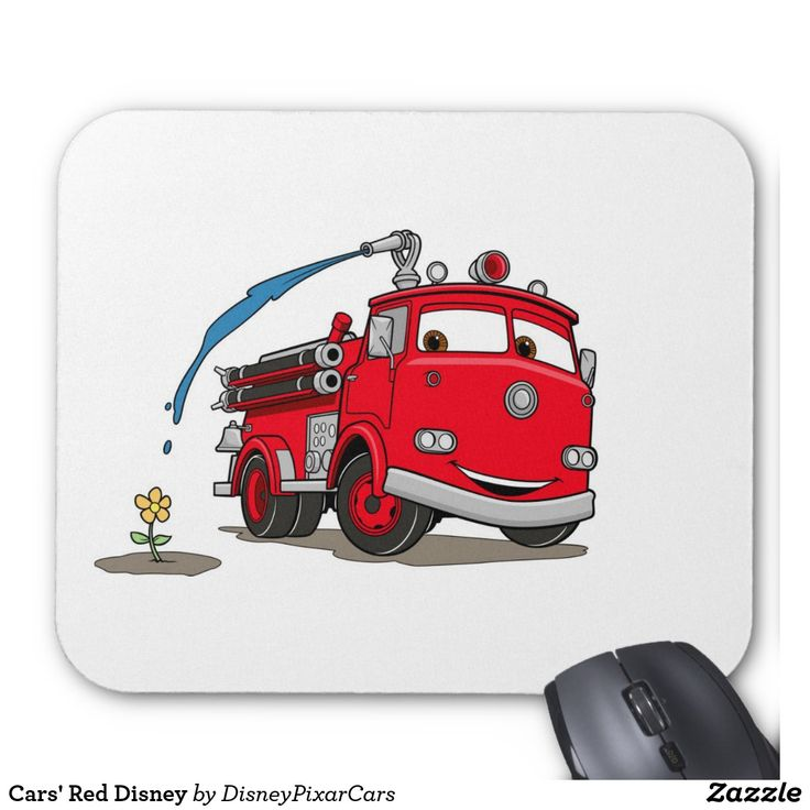Cars' Red Disney. Producto disponible en tienda Zazzle. Tecnología. Product available in Zazzle store. Technology. Regalos, Gifts. #Mousepads