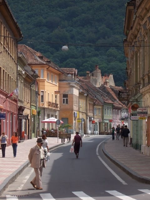 Brasov street scene