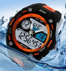 ★ Diving ★ Watch LIMITED TIME ONLY!NOT SOLD IN STORES.Please allow 2-4 weeks forSecure Checkout via:Paypal - Mastercard - VisaFeatures : Auto Date,Repeater,Alarm,Chronograph,Water Resistant,Complete Calendar,Multiple Time Zone,LED display,Shock Resistant,Stop Watch,Back Light