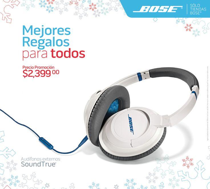 Audífonos SoundTrue™ de Bose®.