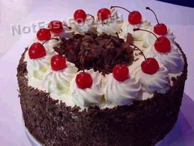Торт Чёрный лес (Black Forest Cake)
