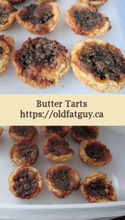 Butter Tarts are a Great Canadian treat! #tarts #buttertarts #dessert #desserts
