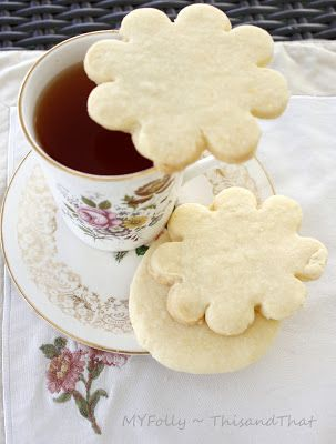 This and that: Meyer Lemon Shortbread Cookies
