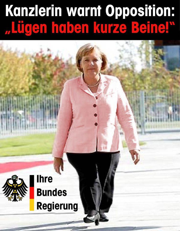 Manchmal ist die Wahrheit einfach viel zu hinderlich, dann muss auch regierungsamtlich gelogen werden. Davor schreckt auch die Merkel-Junta nicht zurück.