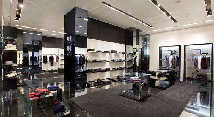 VJC Versace store by Arcabi Associates store design