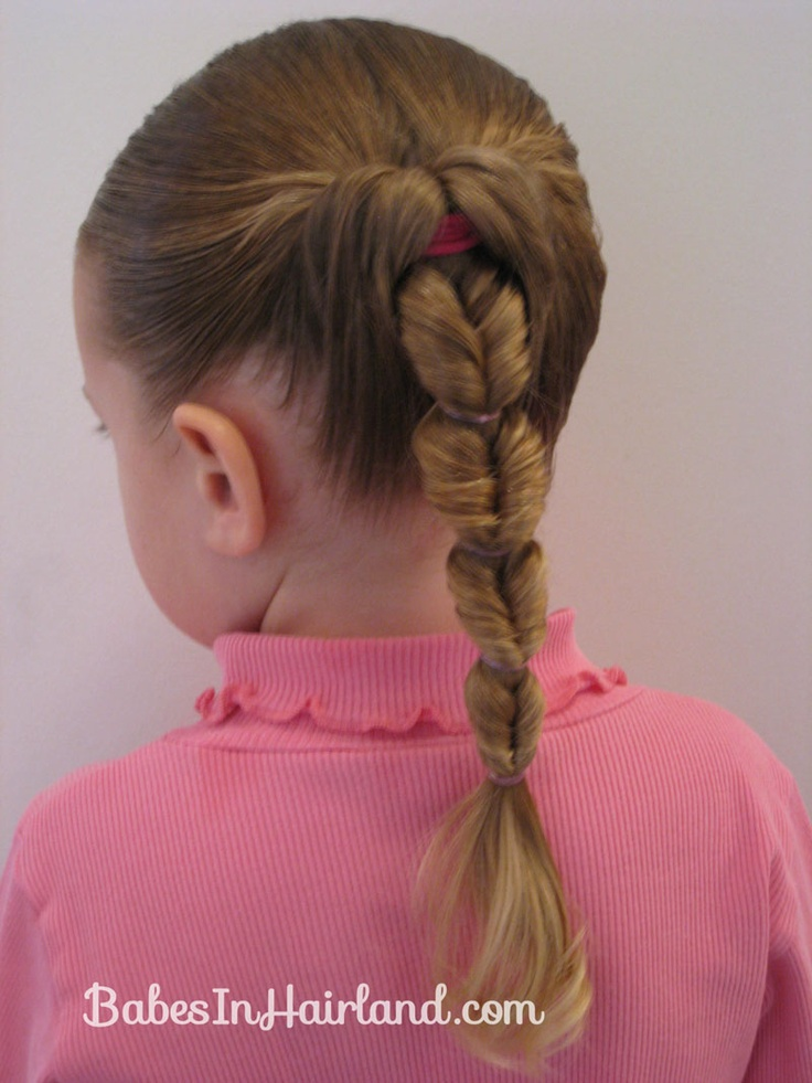 Fake Fishbone Hairstyle (8) – STYLE