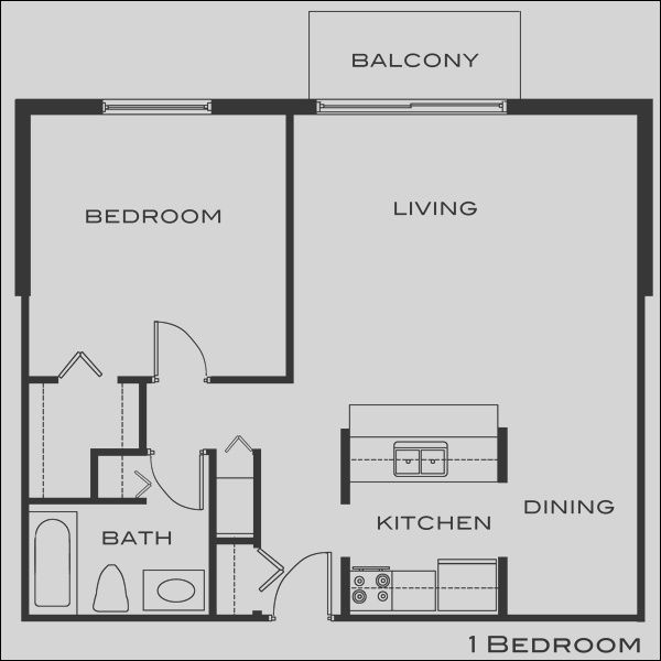 11 Great Small One Bedroom Apartment Design Collection Small Apartment Floor Plans Studio Apartment Floor Plans Studio Floor Plans