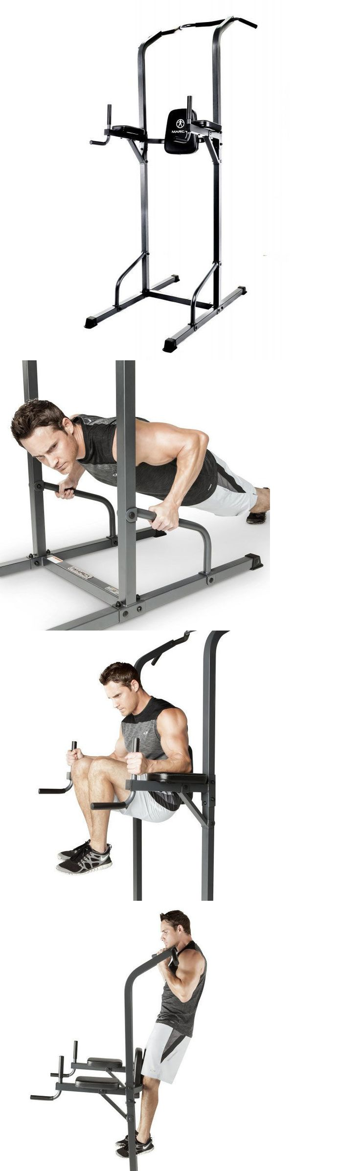 Home Gyms 158923: Marcy Power Tower Tc-3515 Workout Pull Up Push Dip Station Knee Raise Home Gym -> BUY IT NOW ONLY: $125.99 on eBay!