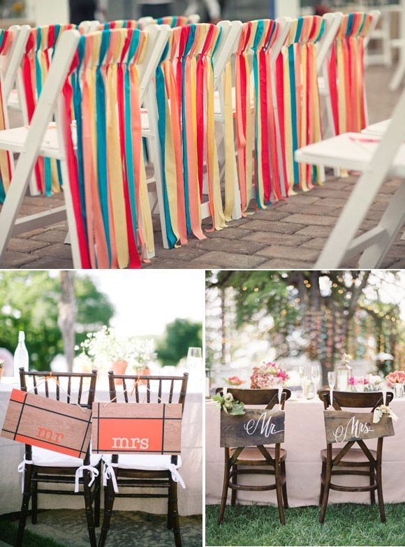 Decorating chair ideas for parties