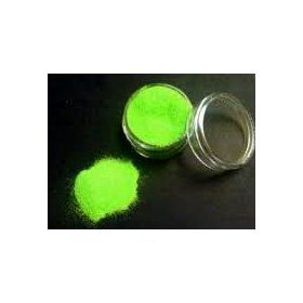 Fazmataz Neon Green Uv Blacklight Reactive Face and Body Glitter- .5oz, (body paint, glow in the dark, black light, blacklight, paint, rave, black light body paint, decorative paint, glow in the dark paint, glow-in-the-dark paint)