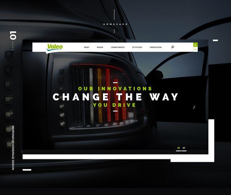 Ознакомьтесь с этим проектом @Behance: «Valeo Website» https://www.behance.net/gallery/46558965/Valeo-Website