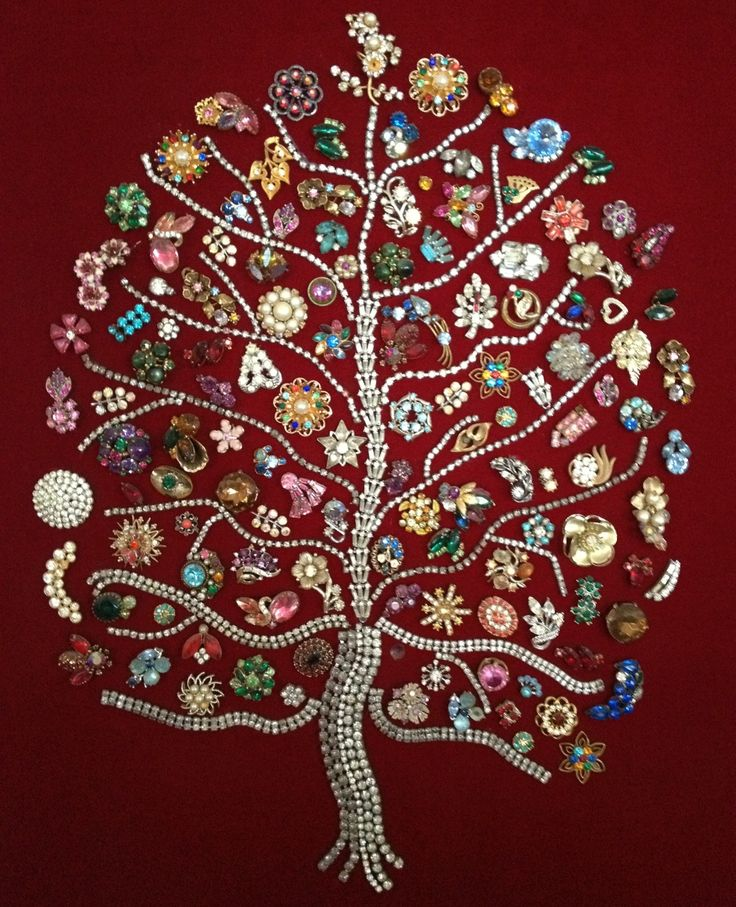 I LOVE this! I bet it cost young fortune to buy all of these jewelry pieces.