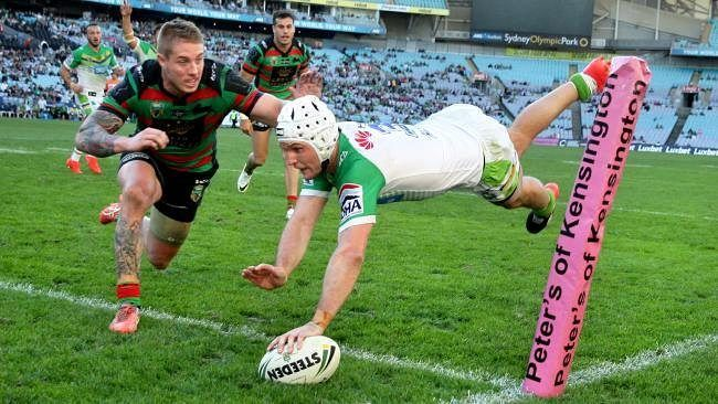 Huge match tonight #NRLSouthsRaiders it's now or..