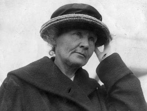 """Marie Curie:  """"Life is not easy for any of us. But what of that? We must have perseverance and above all confidence in ourselves. We must believe that we are gifted for something and that this thing must be attained."""""""