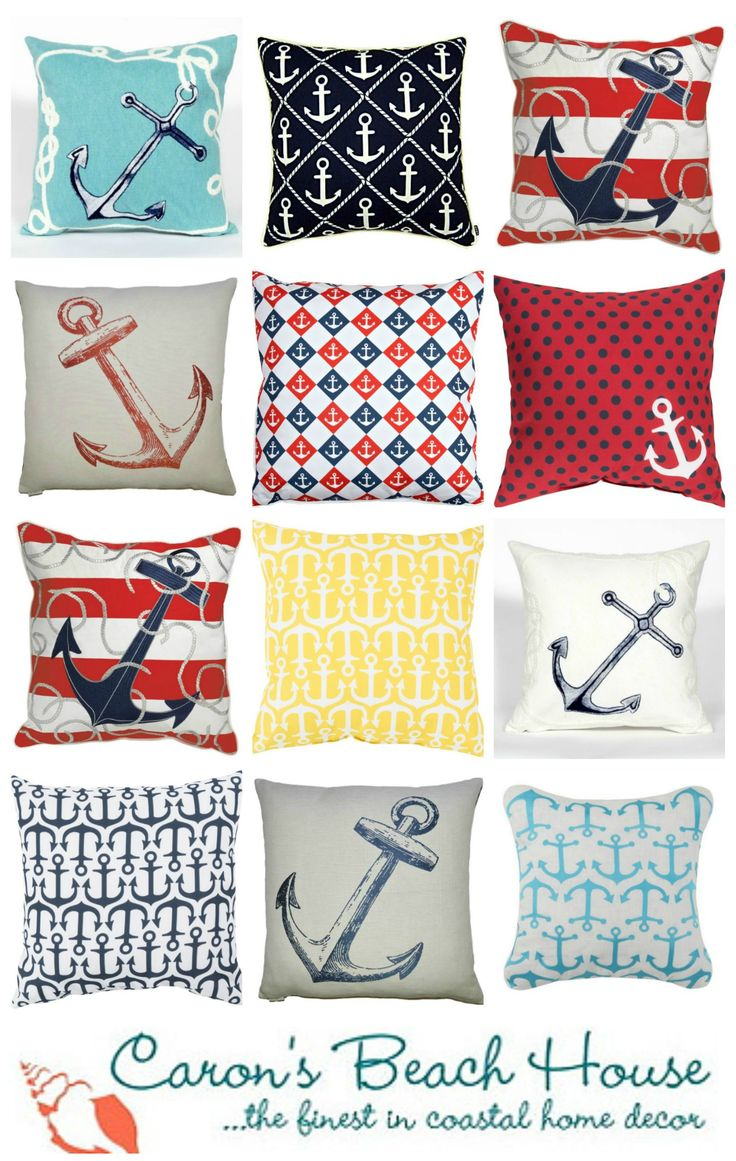 Maritime fun for spring and summer! Toss a few anchors -