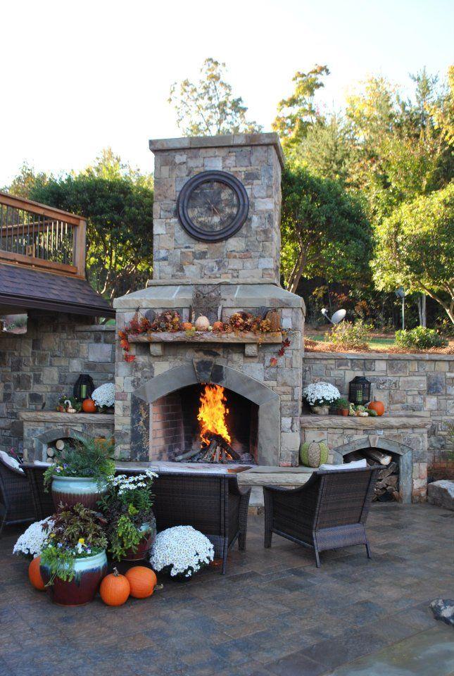 outdoor fireplaces u003c3 Fall 63