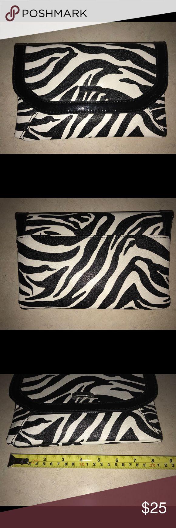 New Grace Adele Zebra Wallet w/Straps New Grace Adele Zebra Wallet with straps. See pics for measurements. Bags Wallets