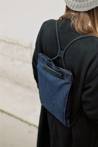 Pocket Bag Small Denim