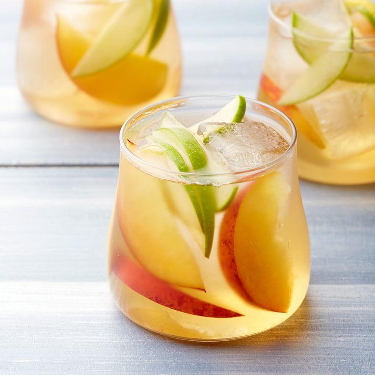 White Wine and Peach Sangria Recipe | Weight Watchers