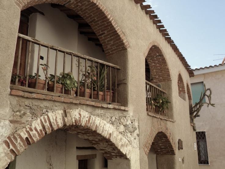 Ancient house in Galtellì, Sardina.